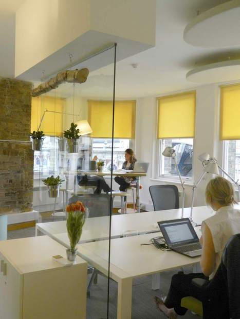 Sustainable Workspaces: Huckletree, London | Sustainable Office and Public Spaces | Scoop.it