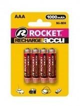 Rocket Digital Akku AAA Micro 1000 mAh - wiederaufladbare Batterie - 4er-Blister     tablet zubehör   Scoop.it