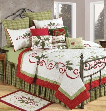 Christmas Bedroom Decor | Ideas for Christmas Gifts and Decorating | Scoop.it
