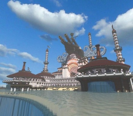 Columbia de BioShock Infinite dans Minecraft | Minecraft32 | Scoop.it
