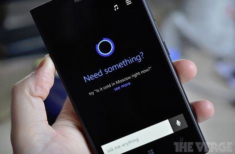 Here's the first picture of Microsoft's Siri competitor 'Cortana' | Anything Mobile | Scoop.it