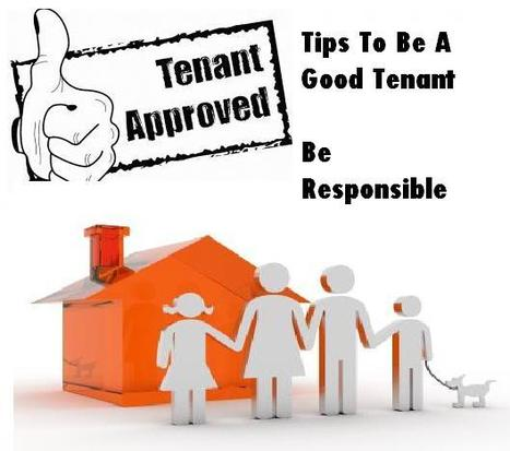 Tips To Be A Good Tenant – Be Responsible | Move In Dubai | Scoop.it
