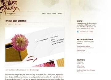 Blog Design Showcase: 25 Outstanding Blog Designs   Sharing Inspiration K7Media   Scoop.it