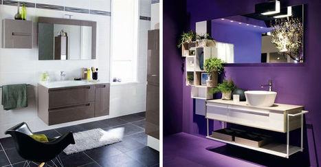 Les nouveaux styles de la salle de bains   DECORATION  DESIGN   Scoop.it