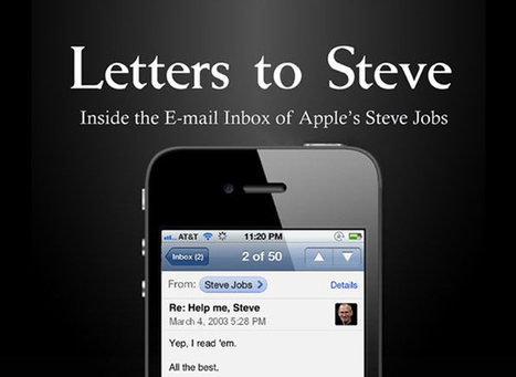 Dear Steve Jobs: Apple Founder's Greatest E-Mail Hits   Business Communication 2.0: Social Media and Digital Communication   Scoop.it