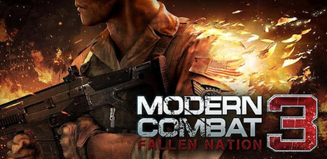 Modern Combat 3: Fallen Nation 1.1.3 APK+ Data For Android   yudha syahmugi   Scoop.it
