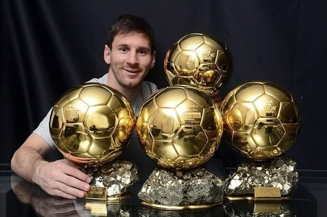 Lionel Messi is building a soccer ball shaped house (Video ... | scoop it | Scoop.it