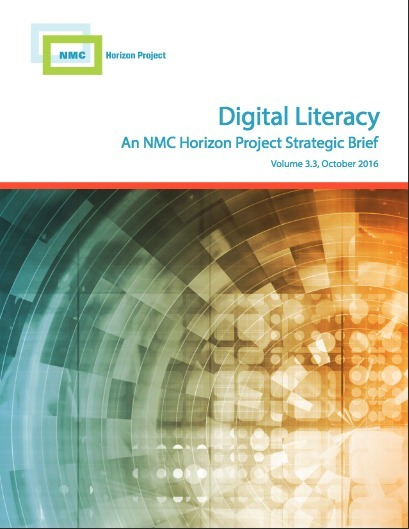 Digital Literacy: New NMC Horizon Project Strategic Brief | Digital Learning - beyond eLearning and Blended Learning in Higher Education | Scoop.it