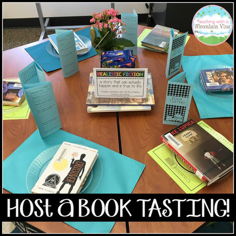 Host a Classroom Book Tasting! | Library world, new trends, technologies | Scoop.it