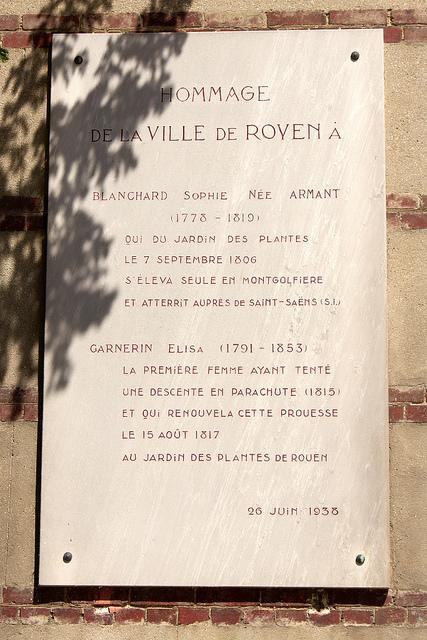 Plaque commémorative | Da Rouen et zalentours | Scoop.it