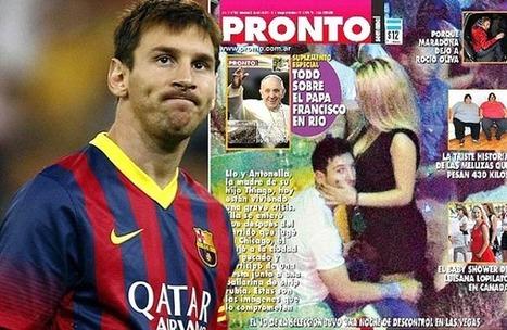 Leo Messi surpris avec une escort girl à Las Vegas – Scandale | GossipWeek | Scoop.it