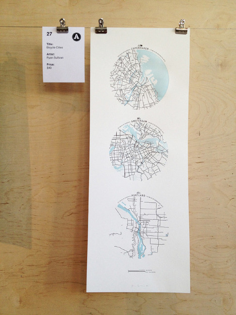 bicycle cities | The Beauty of Letterpress | letterpress | Scoop.it