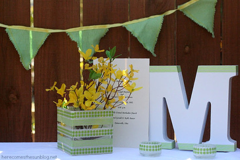 Here Comes the Sun: DIY Wedding: Spring Table Decor | Weddings & Events | Scoop.it