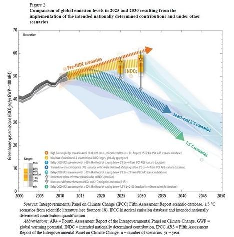 Climat : des contributions nationales encore loin d'atteindre les 2°C | Forêt, Bois, Milieux naturels : politique, législation et réglementation | Scoop.it