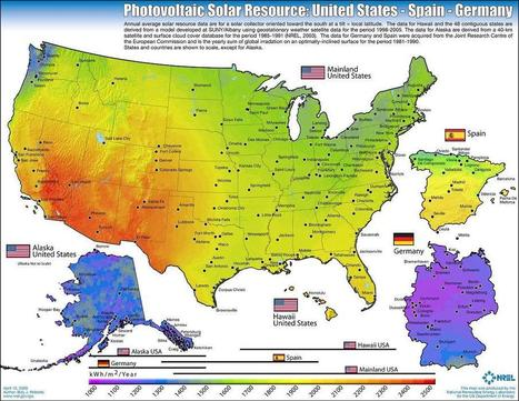 Solar Power Potential of various places   Special Purpose Maps   Scoop.it