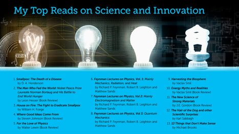 Great Books on Science and Innovation | Spaces for Innovation | Scoop.it