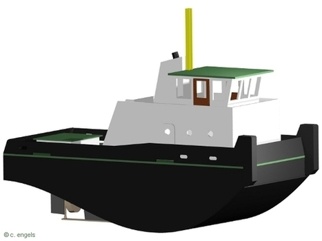 Hafenschlepper Mini-Max - SchiffsModell.net   Springer Tugs   Scoop.it
