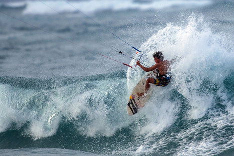 Kai Lenny Kitesurfs in Hawaii in a Suit and Tie - Video | Red Bull Adventure | Kite it! | Scoop.it