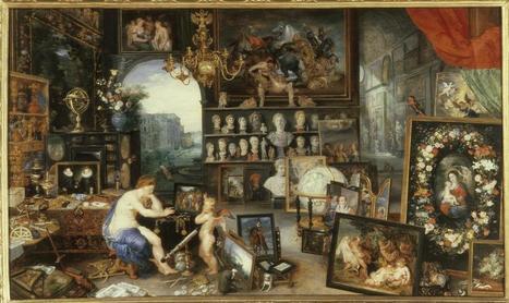 Jan Brueghel the Elder, Allegory of the Five Senses: Sight,... | Five Senses | Scoop.it