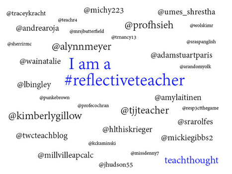 Are You A Reflective Teacher? | library | Scoop.it