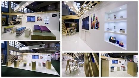 """IDEE FIXE crée l'espace Creative Papers d'ARJOWIGGINS pour le LABELEXPO 2015   Leads """" Les Agences Design & Stand""""   Scoop.it"""