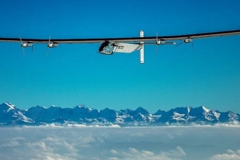 First attempt at around-the-world solar-powered flight to take off from Abu Dhabi in March, 2015 | Heron | Scoop.it