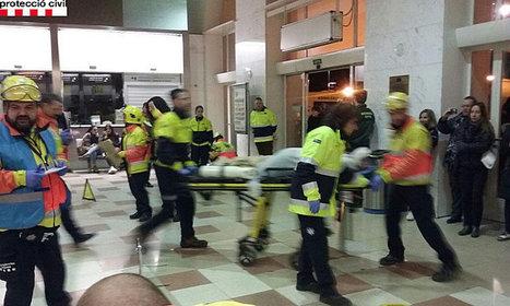 Simulacre de l'incendi d'un tren AVE amb 125 viatgers a l'interior d'un túnel a l'estació de Lleida-Pirineus | Diari del Col·legi  La Salle Mollerussa | Scoop.it