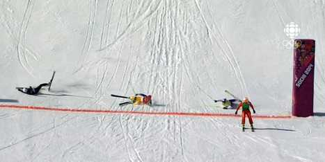 Olympic Ski Cross Race Ends In Crash, Photo Finish - Business ...   Leadership Development   Scoop.it