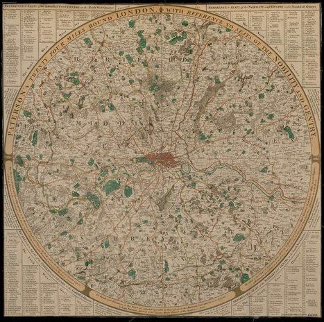 La Colección Mendoza de mapas del siglo XVIII se incorpora a la Biblioteca Digital Hispánica | Nuevas Geografías | Scoop.it