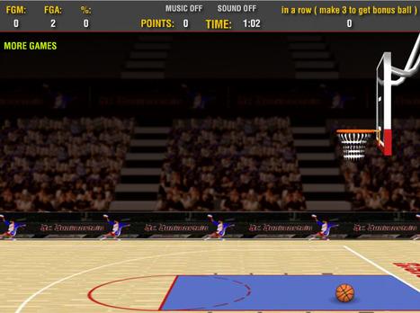 92 Second Basketball | online games | Scoop.it