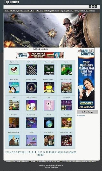 Script Professionnel gratuit et complet comprenant 80 000 Jeux flash d'arcade PHP en ligne pour Webmasters | Logiciel Gratuit Licence Gratuite | Scoop.it