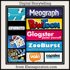 10 Apps & Sites for Digital Storytelling in education | Ideas Poderosas | Following my passion | Scoop.it