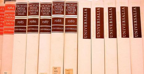 Face à l'omniprésent Wikipédia, Encyclopædia Universalis dépose ... - Numerama   Culture & Wikipédia   Scoop.it