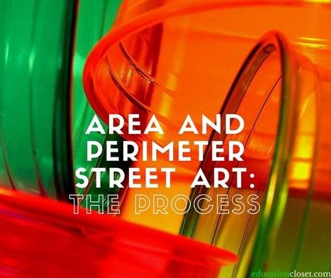 Area and Perimeter Street Art: The Process | Cool School Ideas | Scoop.it