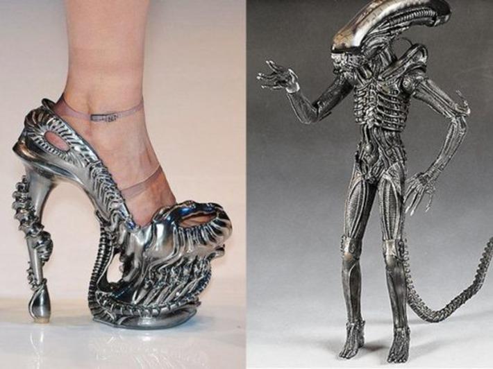 Alien-Inspired High-Heel Shoes [Pic]   Machinimania   Scoop.it