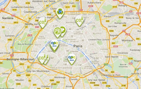 Lancement de la carte interactive Paris Climate 2015 - EpE | great buzzness | Scoop.it