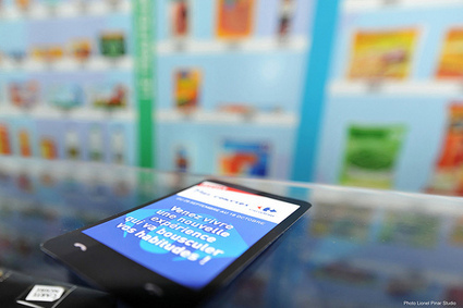 Carrefour inaugure à  Lyon son magasin virtuel | Mobile & Magasins | Scoop.it