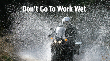 Top Motorcycle Rain Suits For Commuters - Don't Go To Work Wet | Ductalk Ducati News | Scoop.it