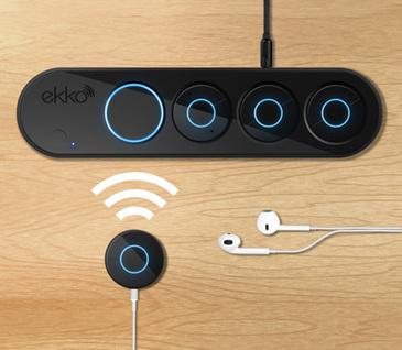 Ekko Audio, a single audio source stream to multiple pairs of headphones at once   Smartphone Stuffs   Scoop.it