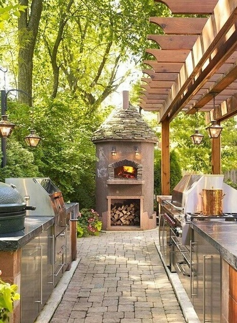 5 Impressive Outdoor Kitchens | All About Kitchen Remodel | Scoop.it