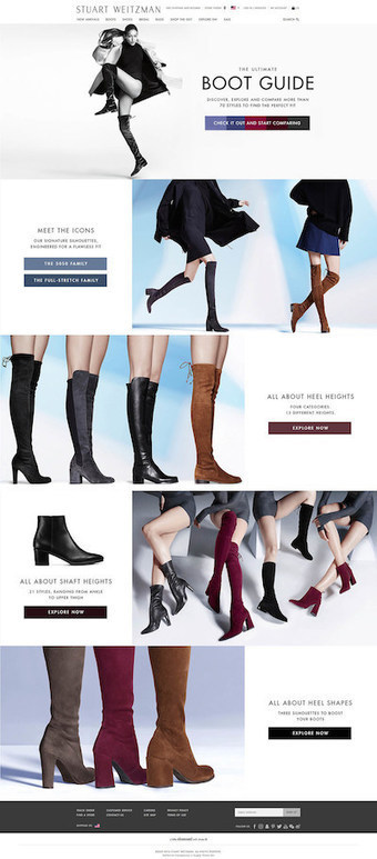 Stuart Weitzman provides introductory course in boots via e-commerce guide   Luxe 2.0 - Marketing digital - E-commerce   Scoop.it