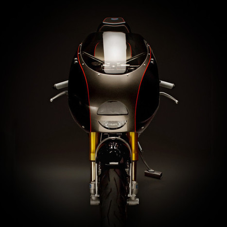 Electrifying: Digital Directiv's custom Ducati | Ductalk Ducati News | Scoop.it