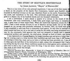 Picture of a (primary) # 1document | Hoovervilles During the great depression | Scoop.it