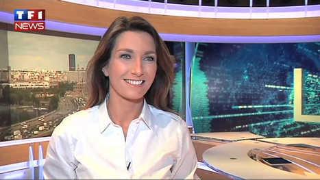 JT de TF1: l'interview d'Anne-Claire Coudray (74e promo ESJ), joker de Claire Chazal   DocPresseESJ   Scoop.it