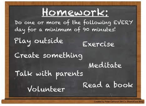 WHAT IF… Home 'work' Looked Like This? | New learning | Scoop.it