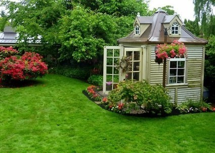 Like A Dollhouse | Garden Sheds | Scoop.it