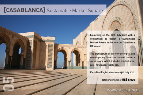 [CASABLANCA] Sustainable Market Square | The Architecture of the City | Scoop.it