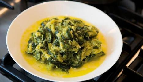 Slow-cooked Zucchini with Tarragon | good looking recipes | Scoop.it