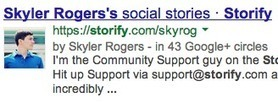 Get Storify connected! To your Google+ and Facebook Pages | GooglePlus Expertise | Scoop.it