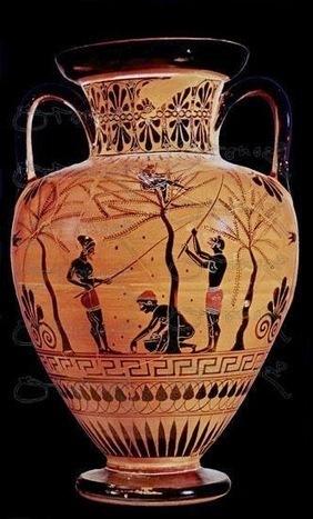 Lecturas fáciles en griego: Zouke, Anagnostikon: 2. Ὁ γεωργός. | Griego clásico | Scoop.it